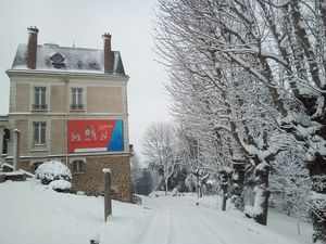 MRN sous la neige. Photo A.Demersseman